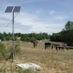 installazione della pompa fotovoltaica