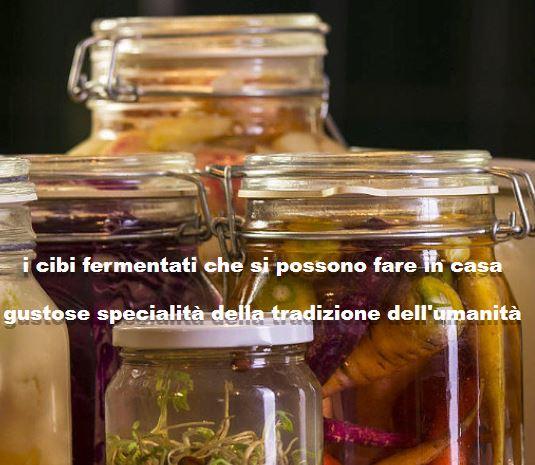 Alla scoperta dei cibi Probiotici o fermentati