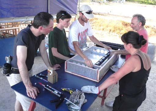 Aria Nel Pannello Solare : Autocostruzione collettore solare ad aria essiccatore