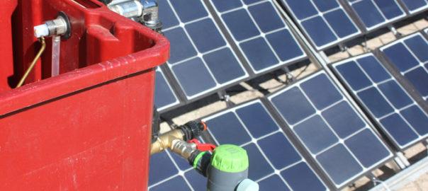 Orti e colture: ecco il sistema d'irrigazione fotovoltaico