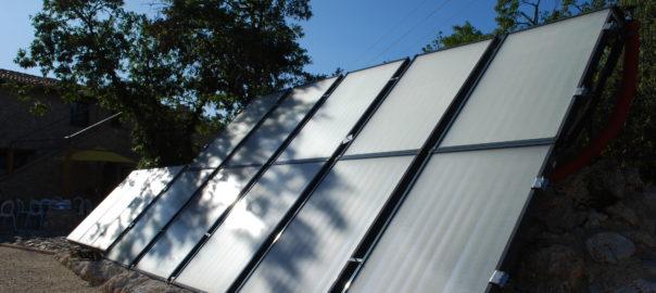 Riscaldarsi con il collettore solare