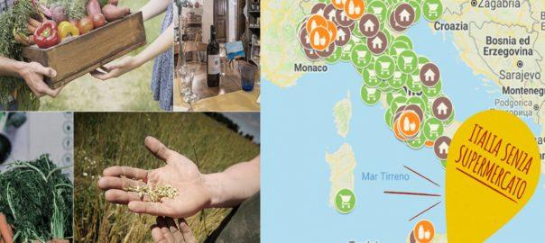 Online la nuova mappa per… vivere senza supermercato