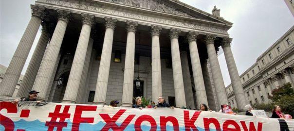 Exxon alla sbarra. L'accusa: «Ha mentito sul cambiamento climatico»
