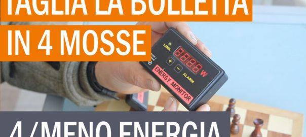 """4/Taglia la bolletta in 4 mosse: basta con la casa """"mangia-energia""""! Misurate e riducete!"""